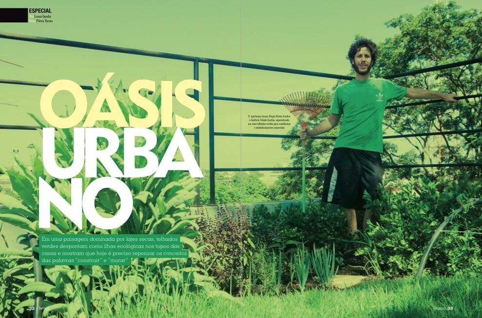 Oasis urbano foto capa